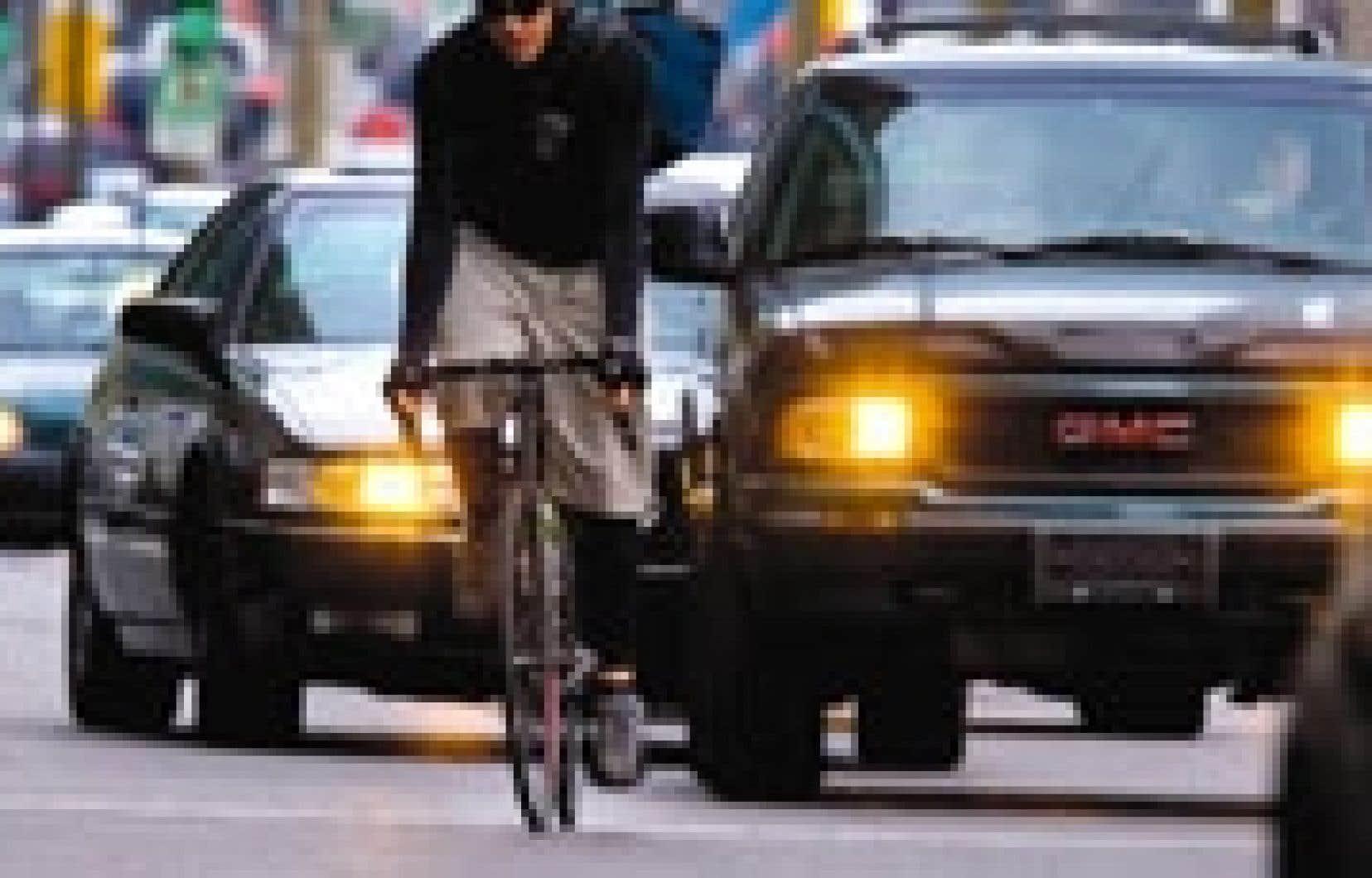 Entre le 22 mai et le 31 août, les policiers du SPVM ont distribué 1080 constats d'infraction au Code de la sécurité routière aux cyclistes.