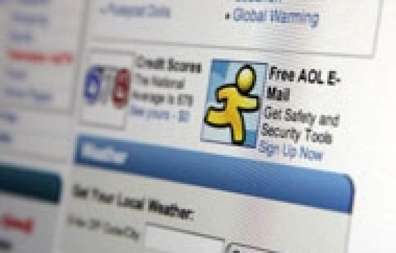 Les publicités proposées dans les moteurs de recherche et les liens textes sont mieux perçues par les internautes.