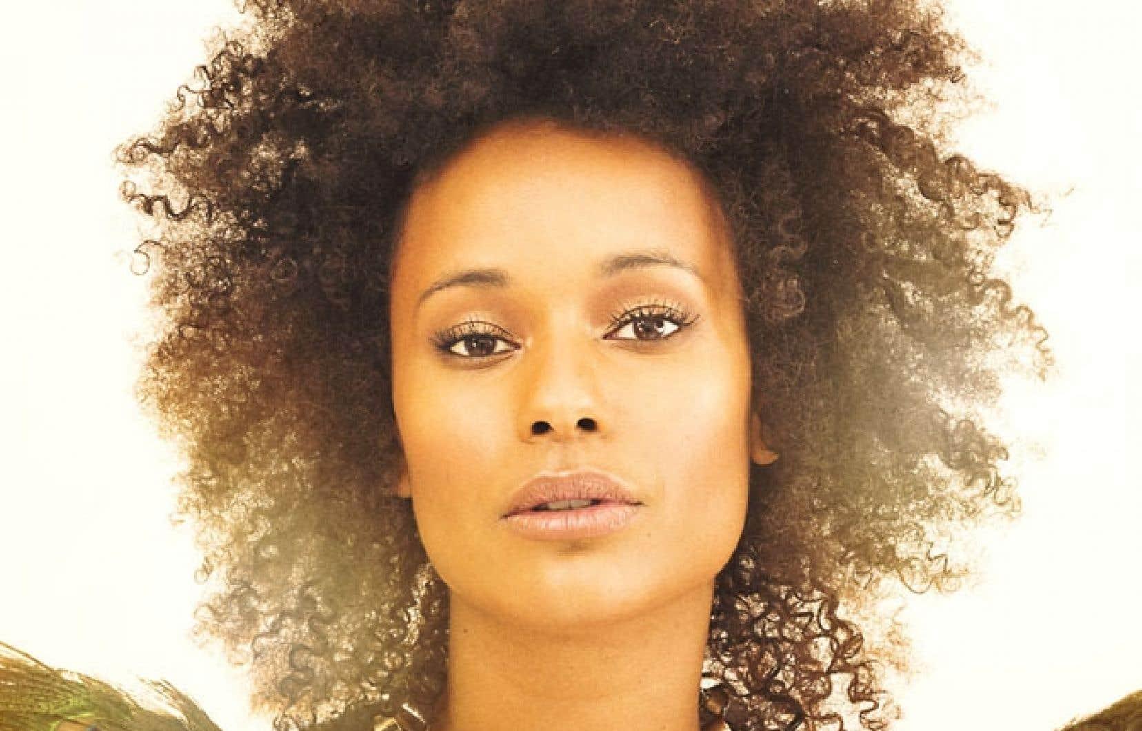 Marième affiche la même bouille souriante, le même afro.
