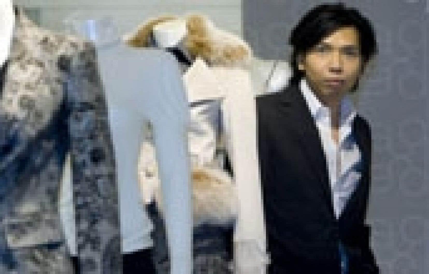 Le designer Andy The Anh: «La mode est un domaine que les politiciens considèrent artificiel. Ils ne connaissent pas l'industrie et on n'a pas ici la culture de la mode comme les Français ou les Américains.»