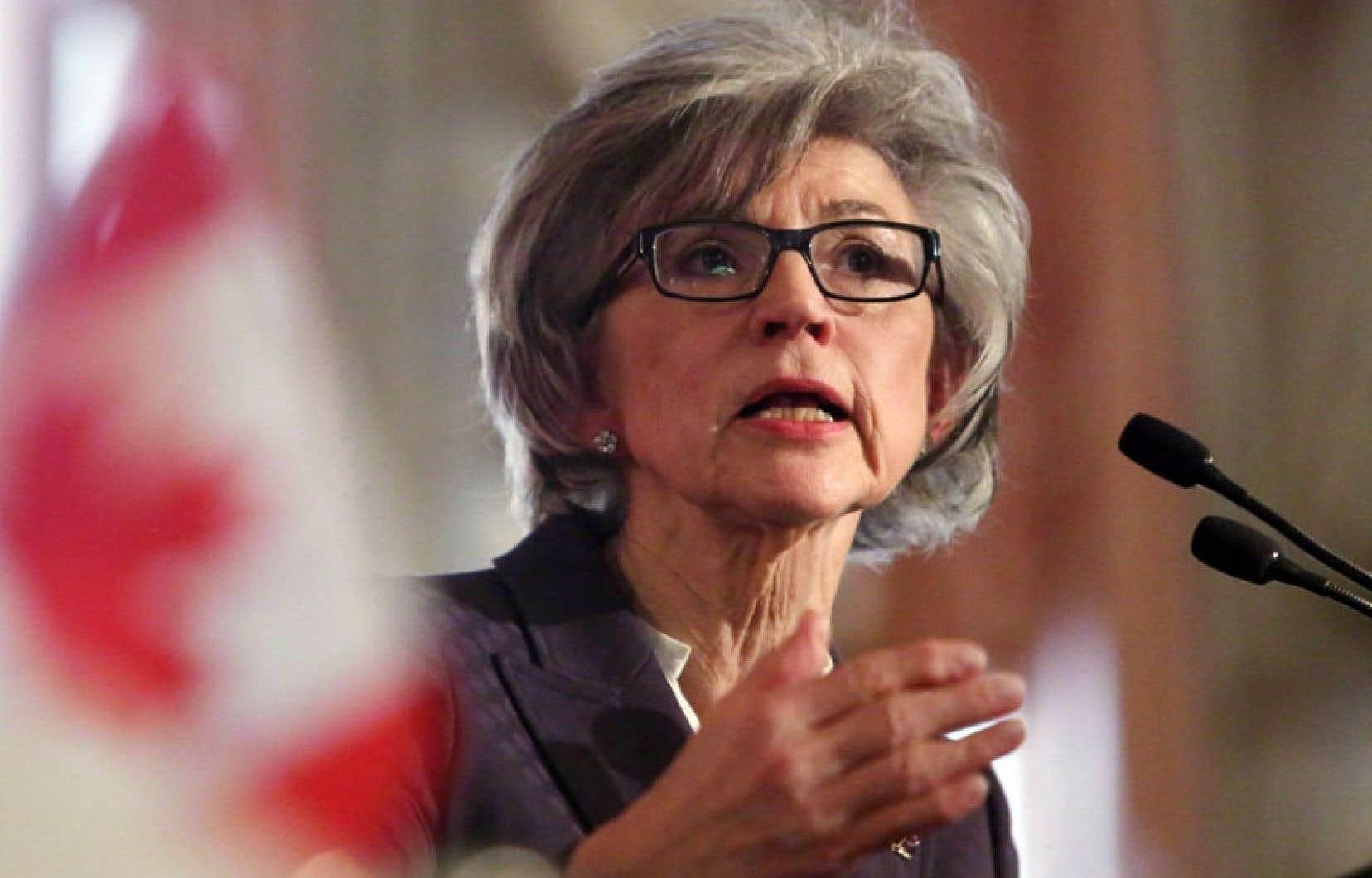 La juge en chef Beverly McLachlin et le premier ministre Stephen Harper s'affrontent au sujet de la nomination de Marc Nadon.