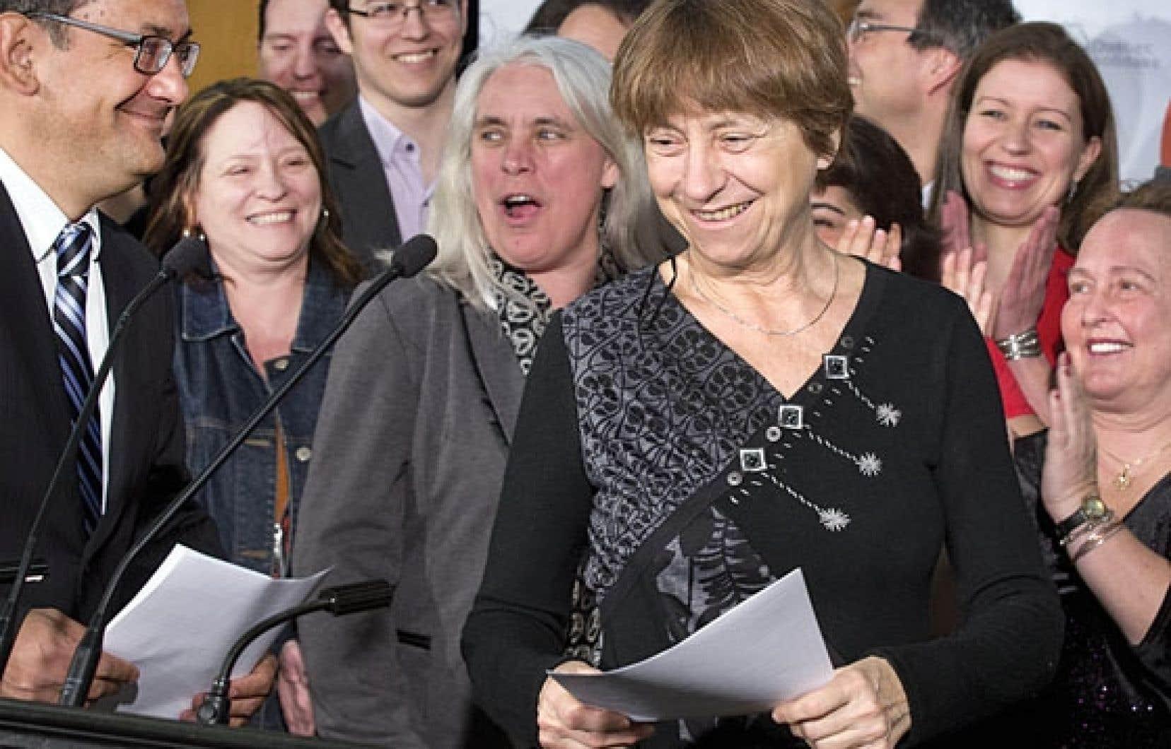 Québec solidaire est le seul parti à avoir présenté un nombre égal de candidat et de candidates aux dernières élections.