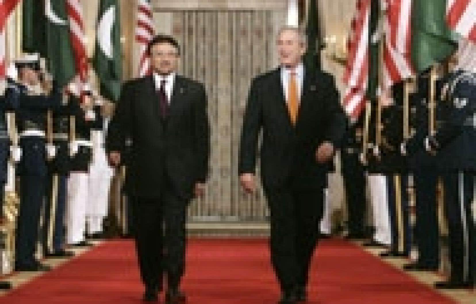 Les deux chefs d'État ont tenu une conférence de presse commune à l'issue d'un entretien à la Maison-Blanche.