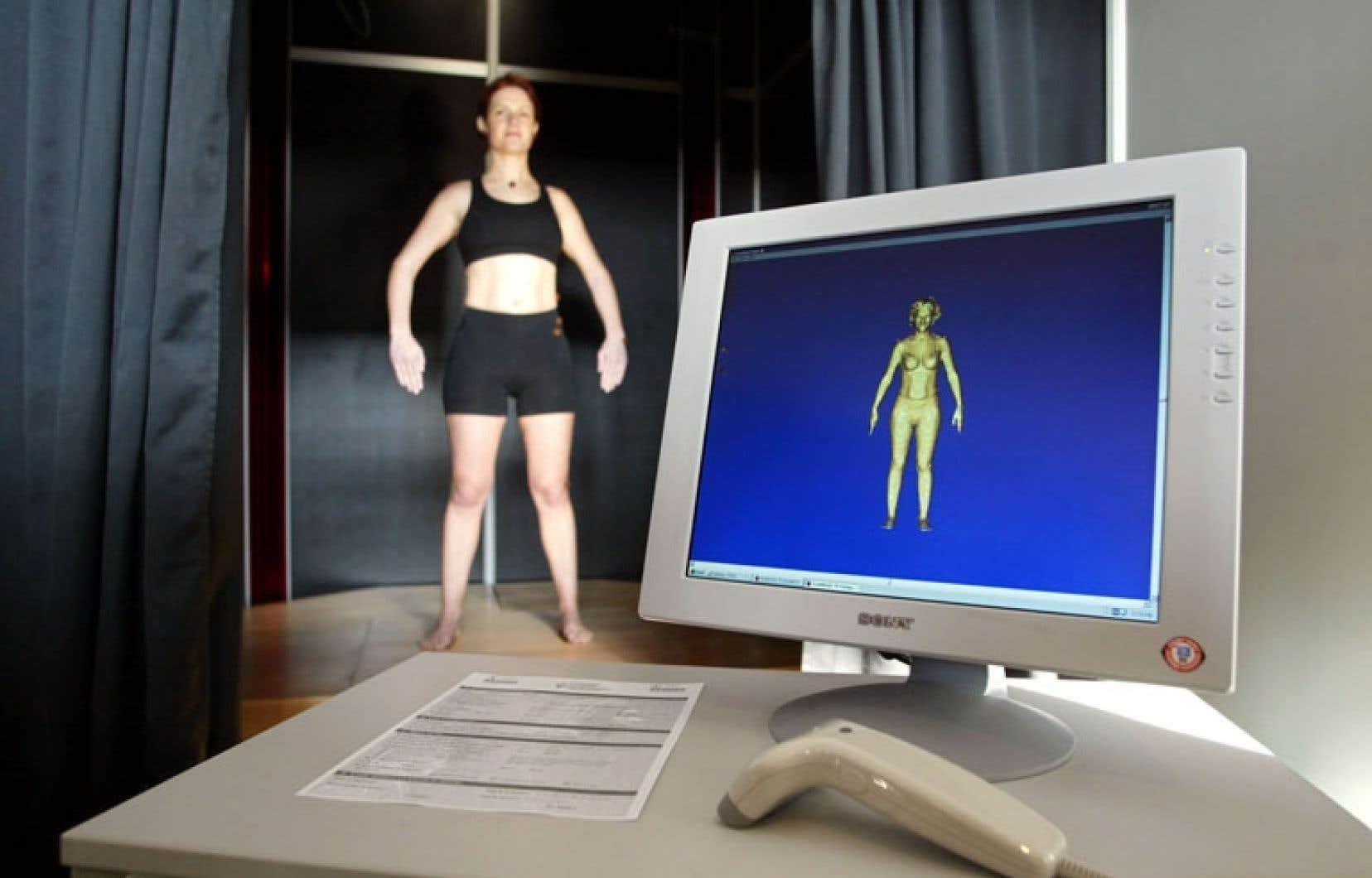 Les technologies numériques 3D sont utilisées par l'industrie du vêtement.