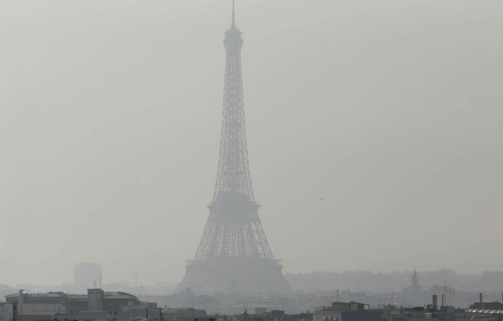 Paris sous le smog en mars dernier