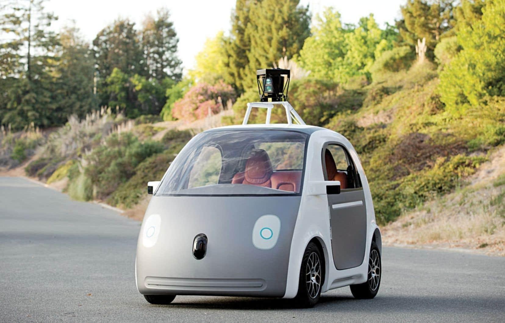 Google pense être en mesure de prendre la route avec sa voiture sans chauffeur d'ici deux ans.