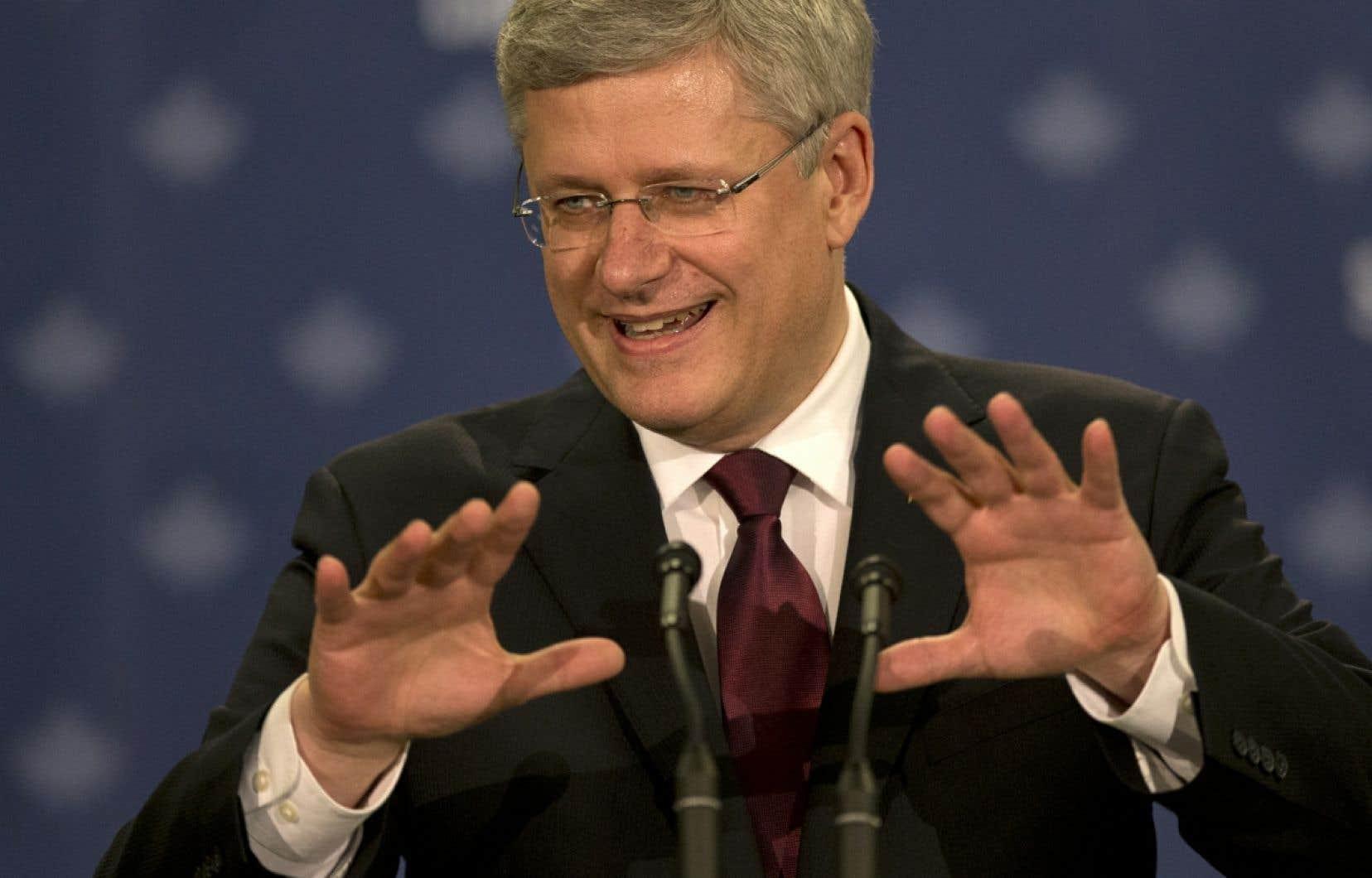 Le premier ministre canadien Stephen Harper a annoncé jeudi à Toronto ce nouvel engagement, qui doit couvrir la période de 2015 à 2020.
