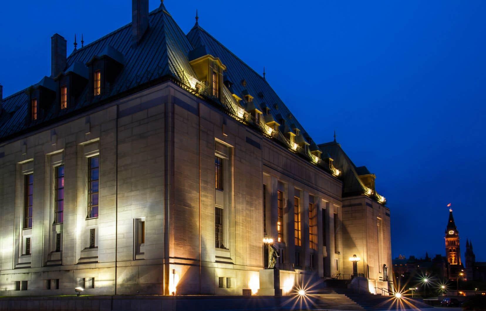 L'automne dernier, Ottawa avait surpris toute la communauté juridique en nommant à la Cour suprême Marc Nadon, un juge de la Cour d'appel fédérale.
