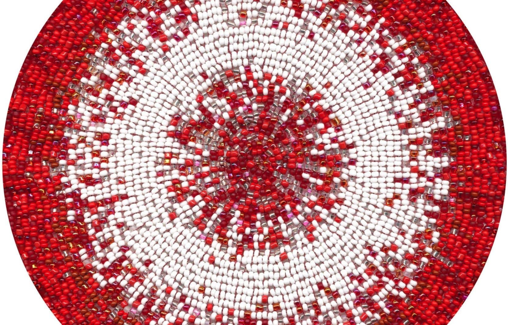 Meditations on Red # 1 (2013), de l'artiste Nadia Myre