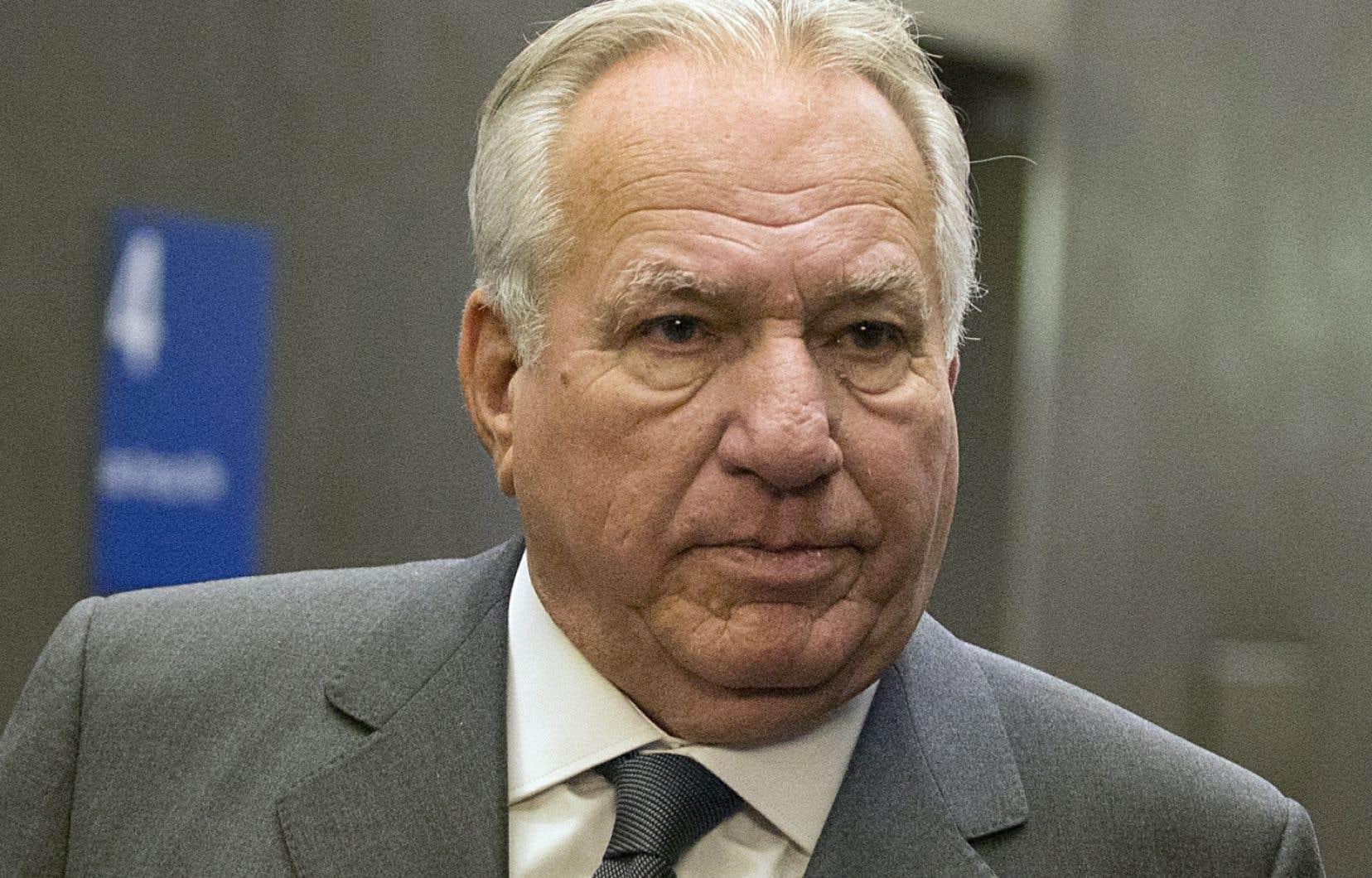 L'argentier du parti de l'ex-maire de Montréal Gérald Tremblay, Bernard Trépanier
