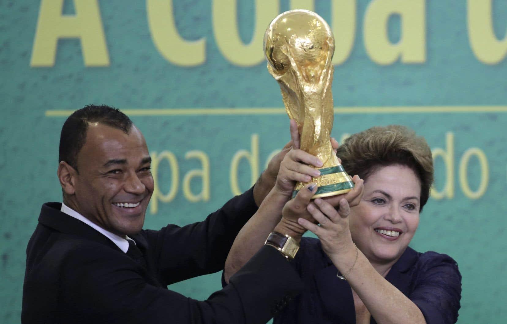 La présidente du Brésil, Dilma Roussef