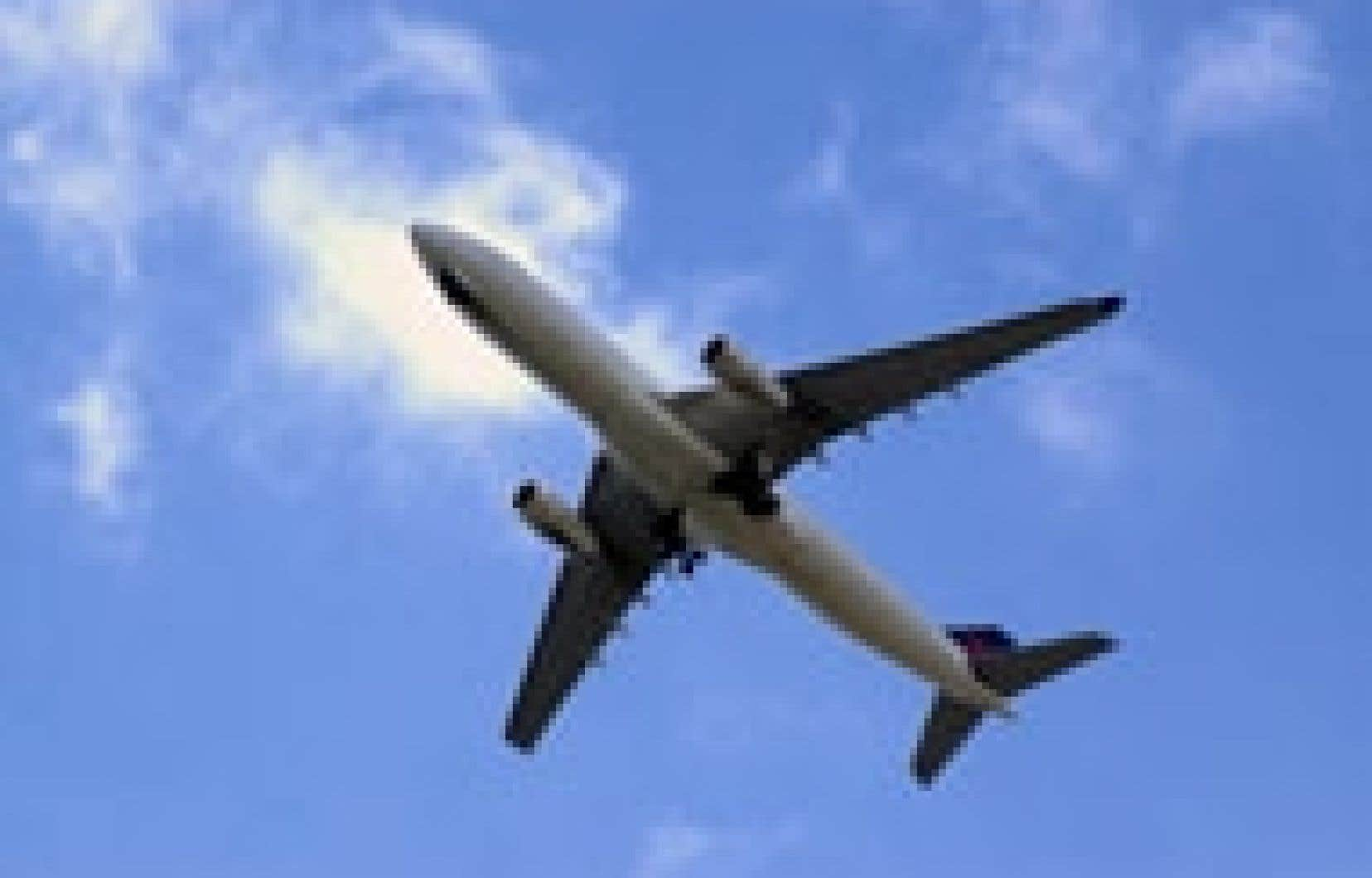 L'aviation est responsable de 4 % des émissions de gaz à effet de serre d'origine humaine chaque année.