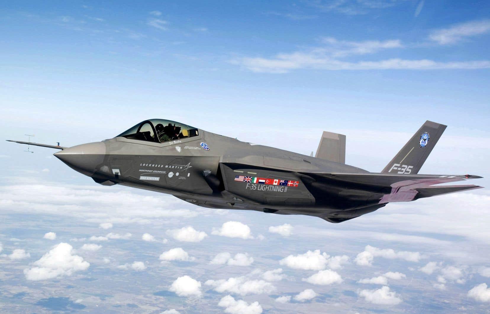 L'appareil F-35 est au nombre des avions considérés par le gouvernement Harper.