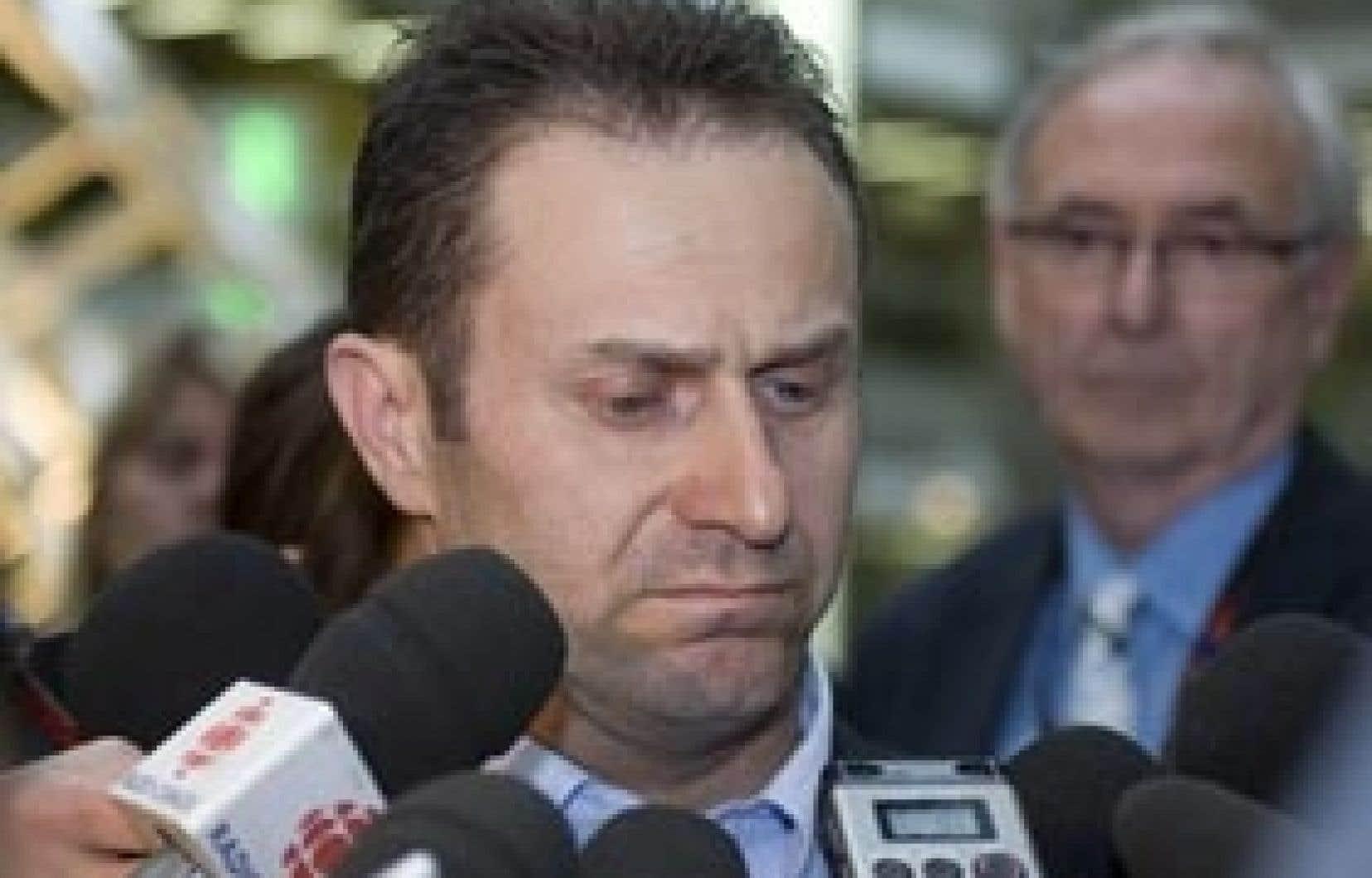 Daniel Casgrain, le mari de la victime, dit qu'il ne pourra jamais pardonner à Francis Proulx et à sa famille.