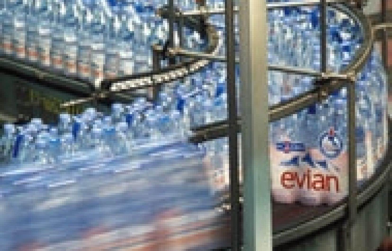 Un penchant immodéré pour l'eau en bouteille entraîne des dépenses considérables pour le consommateur.