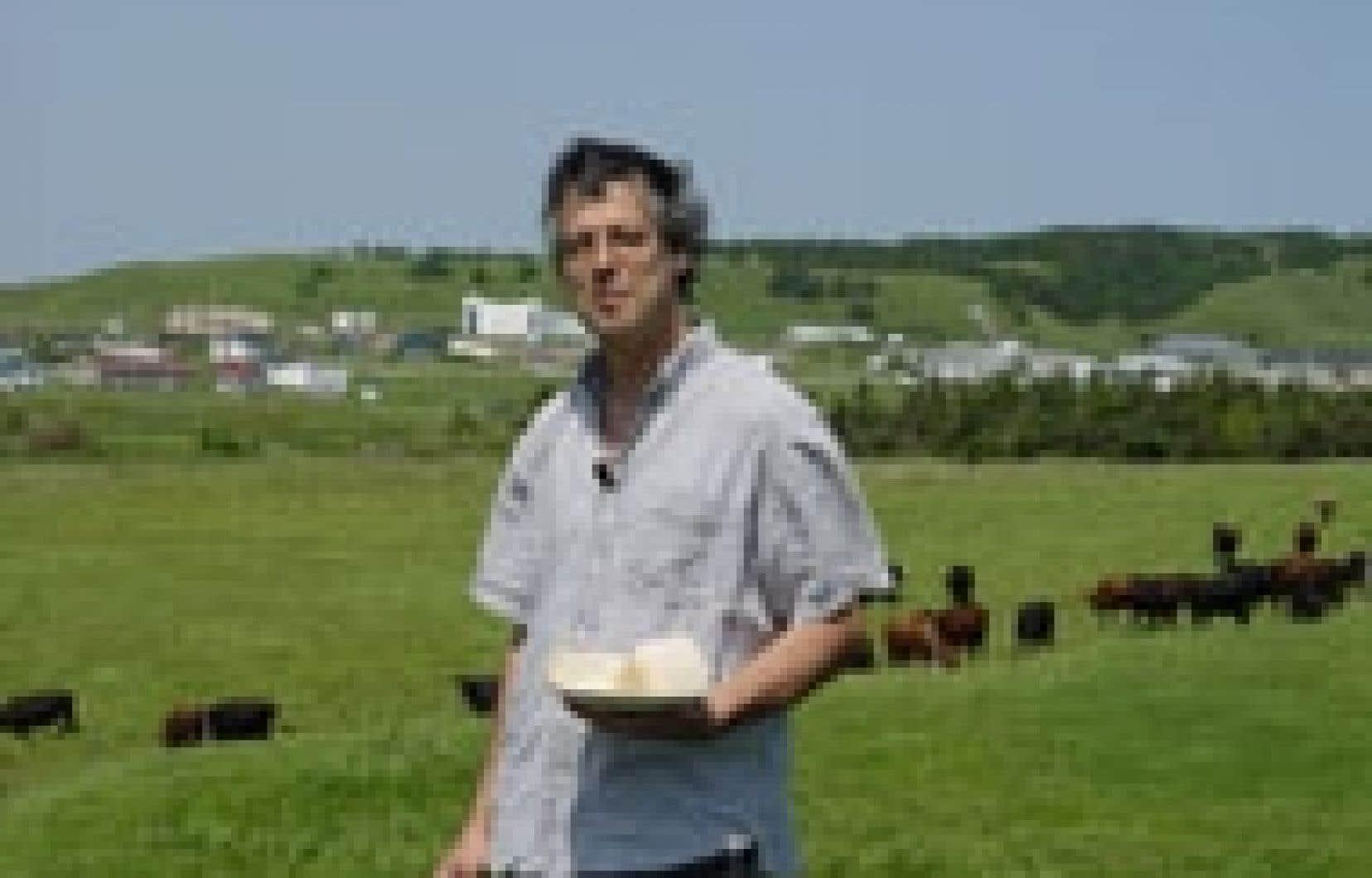 Il y a de cela 12 ans, Vincent Lalonde quittait en aventurier la vie montréalaise pour accoster aux Îles et concrétiser un vieux rêve: faire du fromage.