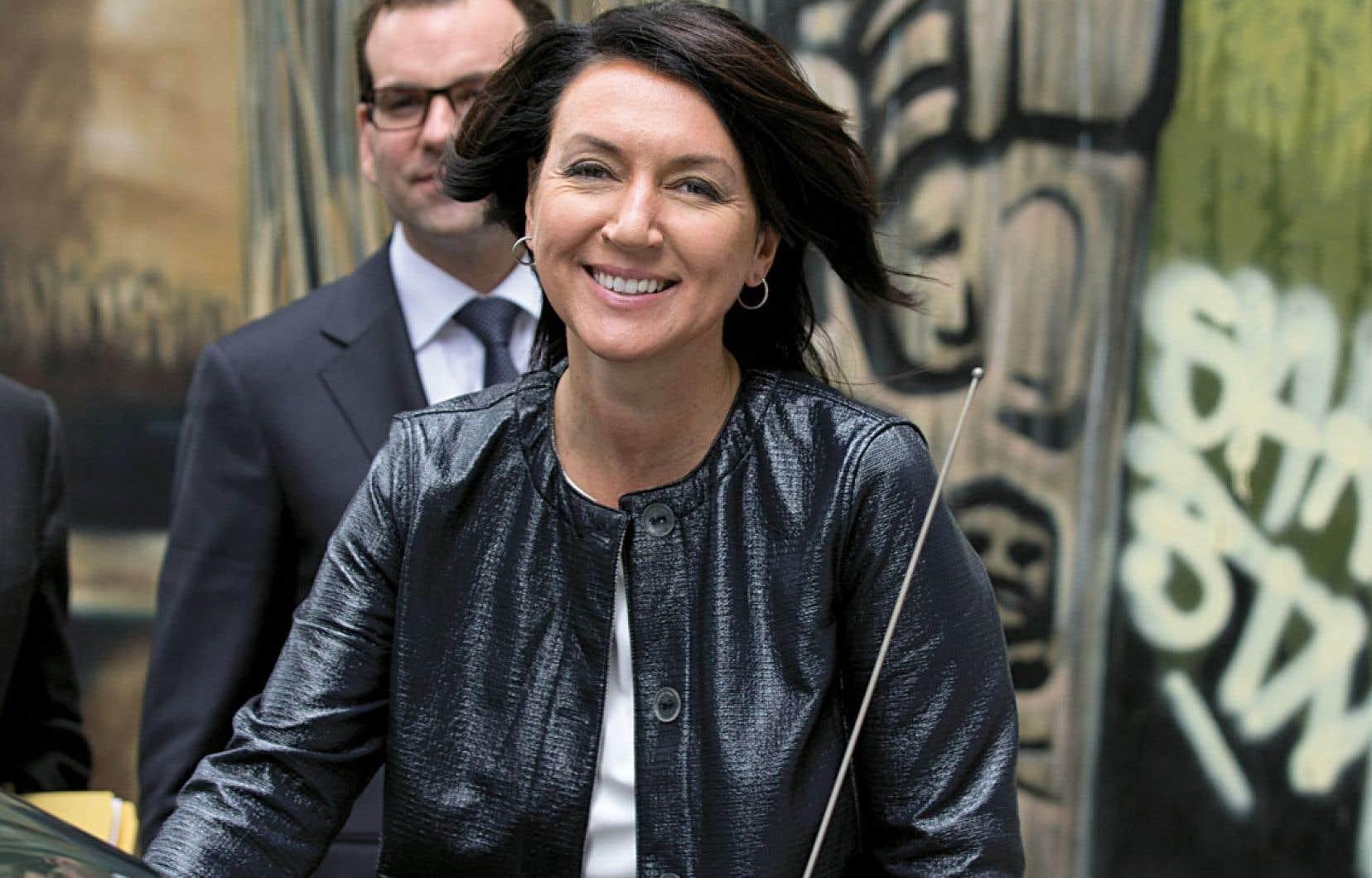 Nathalie Normandeau a été vice-première ministre d'avril 2007 à septembre 2011, date de sa démission. Attendu depuis des mois, le témoignage de l'ancienne ministre des Affaires municipales et des Régions, puis des Ressources naturelles, n'aura finalement duré que quelques heures.