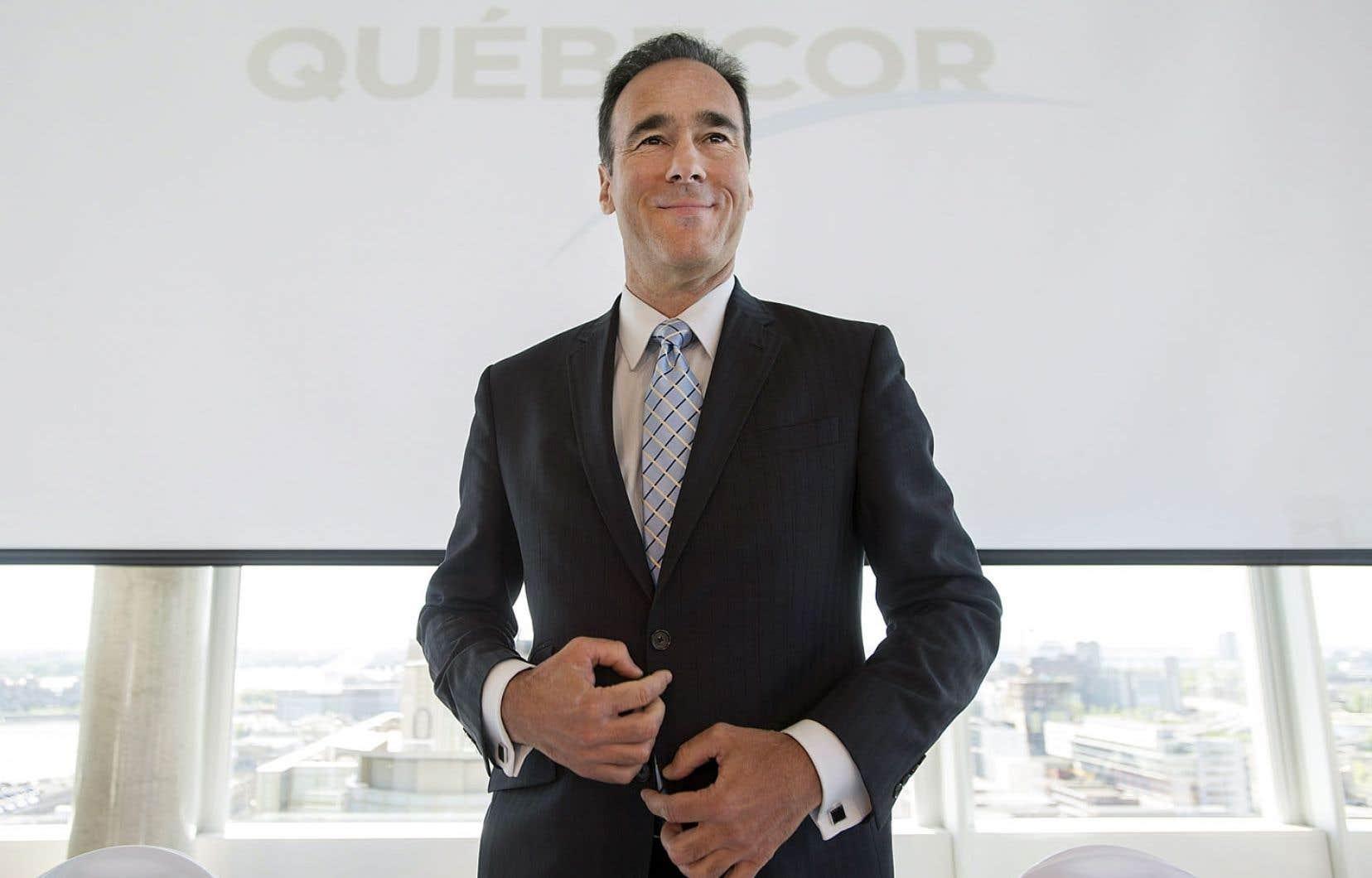 Pierre Dion, président de Québecor: «Nous sommes en discussion avec différents groupes à l'heure actuelle.»