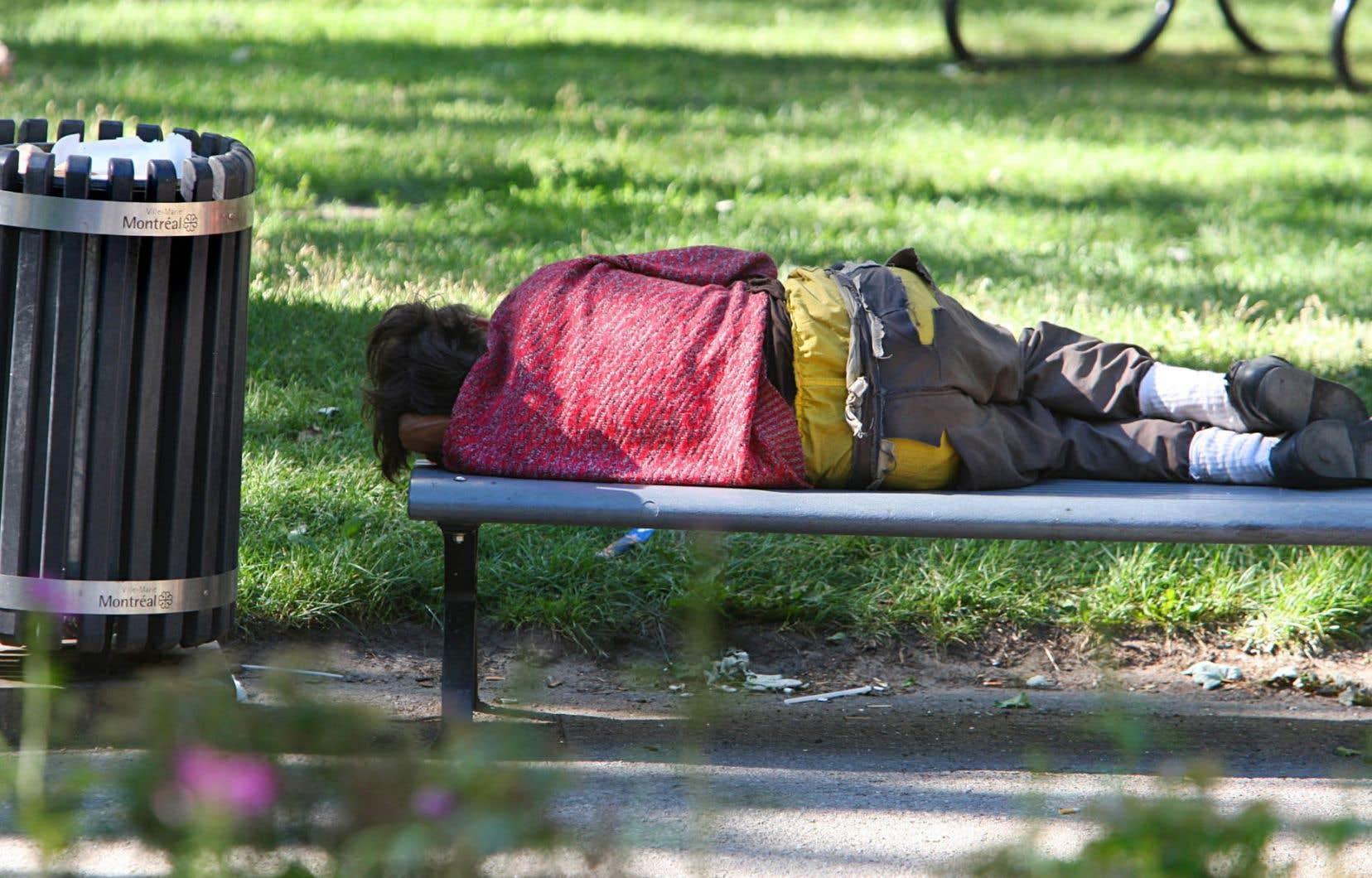 Bien que les organismes d'aide aux sans-abris déplorent le choix des bancs avec accoudoirs, ils reconnaissent tous que la ville manque de mobilier urbain.