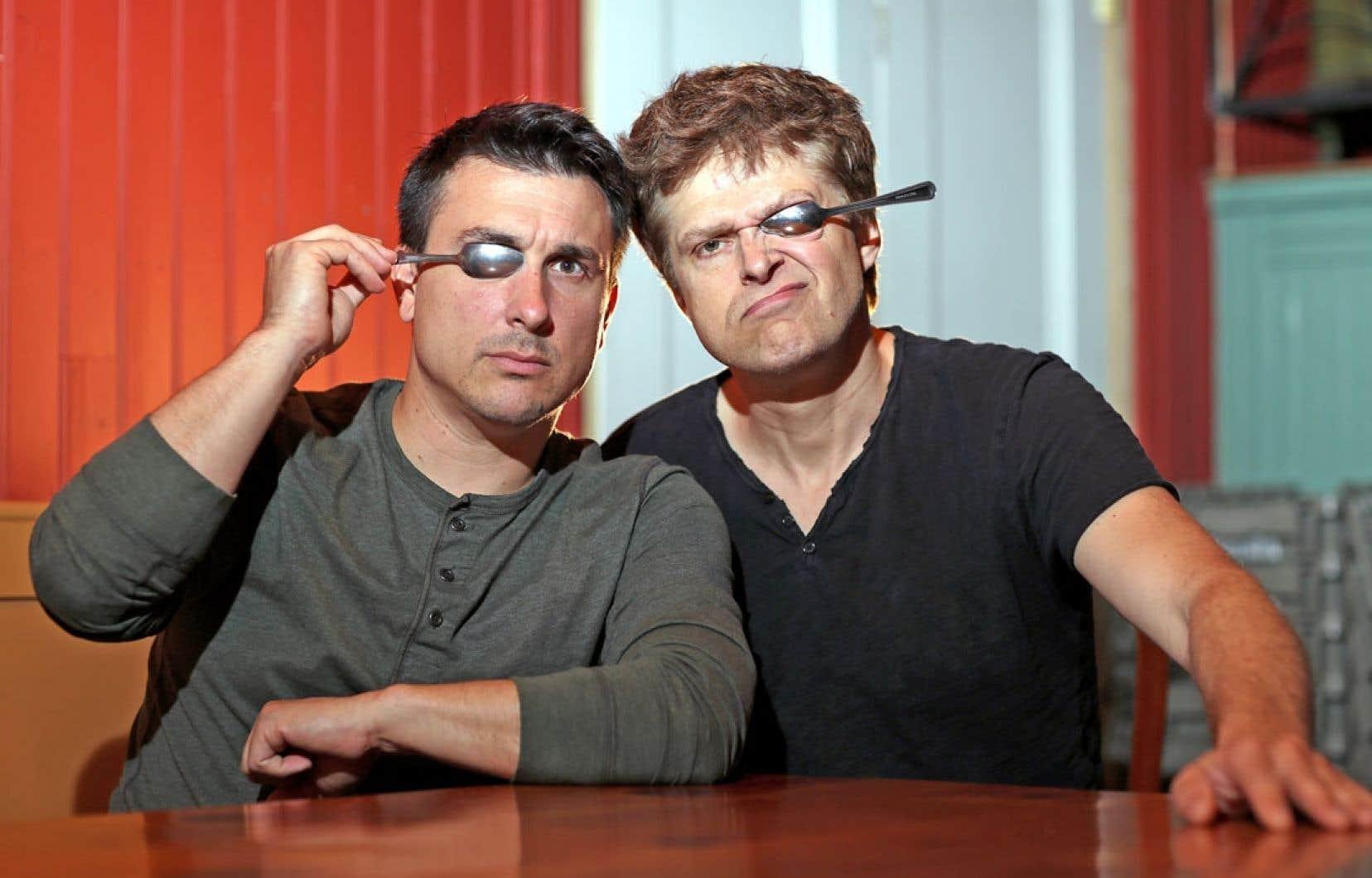 Frédéric Barbusci, à gauche, et Réal Bossé: «En bas, ça va être tout nu, en haut, ça va être dépourvu.»