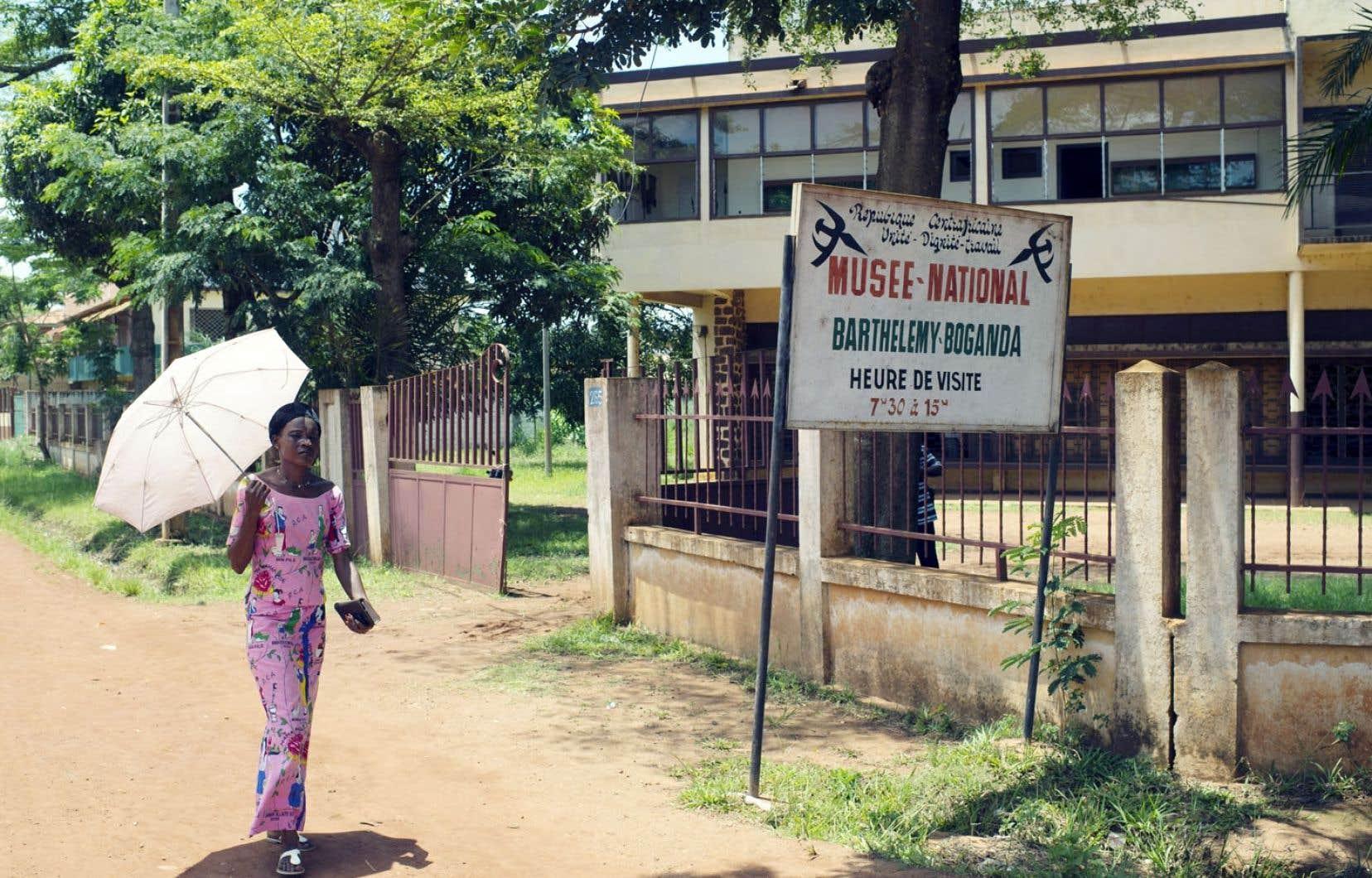 Triste symbole d'une culture écrasée par les affrontements entre groupes rebelles et milices d'autodéfense, le musée national de Bangui est fermé au public depuis des mois.
