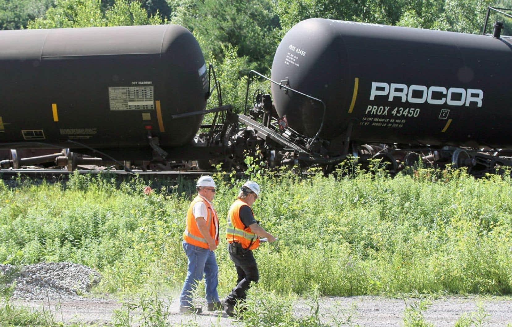 Le Canadien National (CN), qui se targue des plus hauts standards de sécurité, devra fournir des explications après le déraillement de train du 10 juillet dernier, près de Brockville, en Ontario.