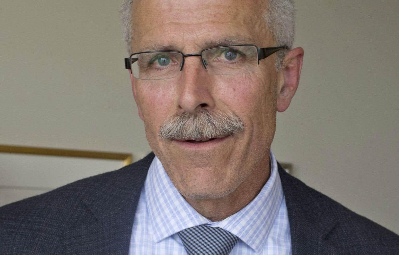 François Boulay, maire de Ristigouche