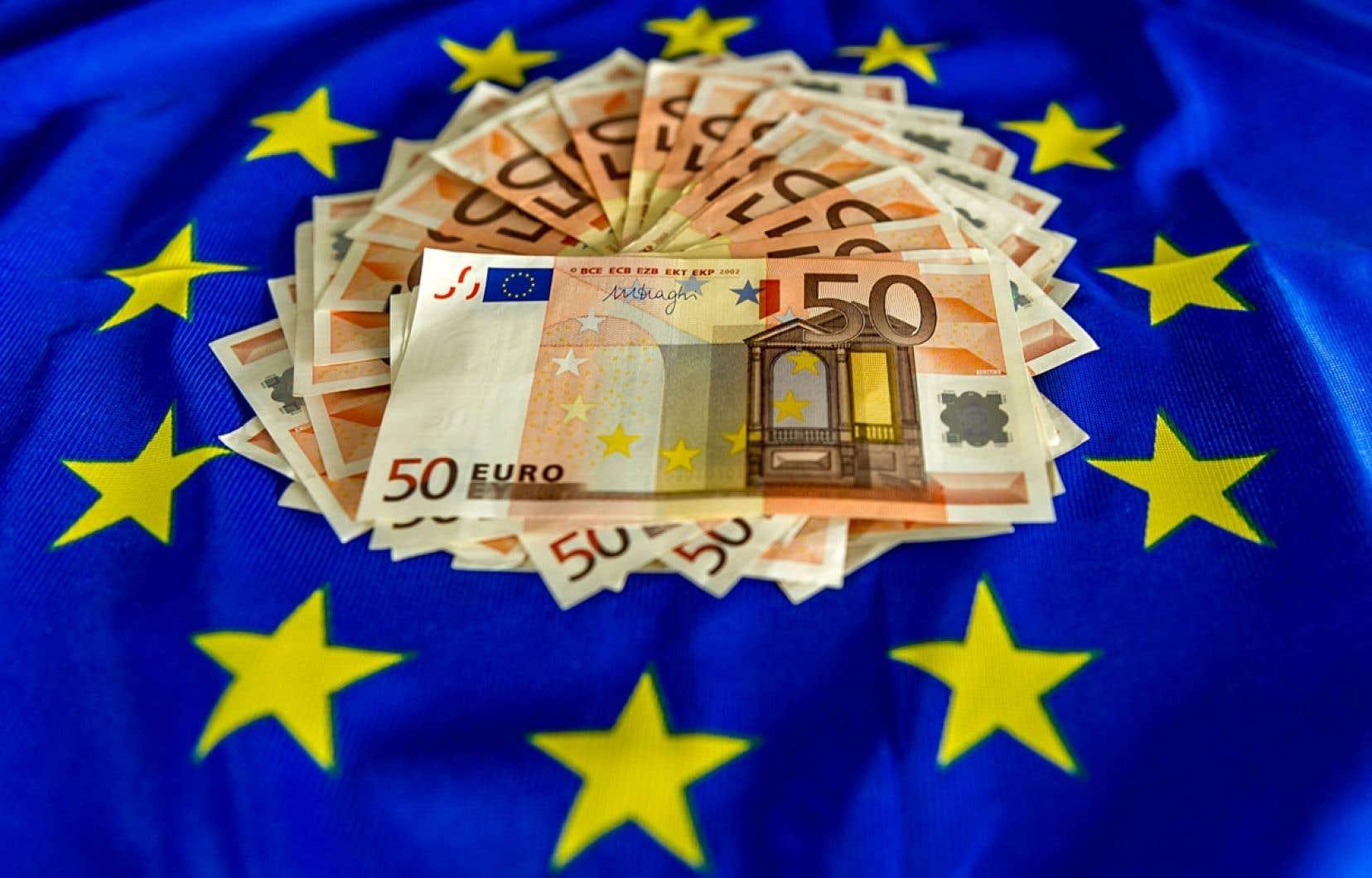 La dette publique de la zone euro s'est élevée au premier trimestre 2014 à 9055,5 milliards d'euros, selon Eurostat.
