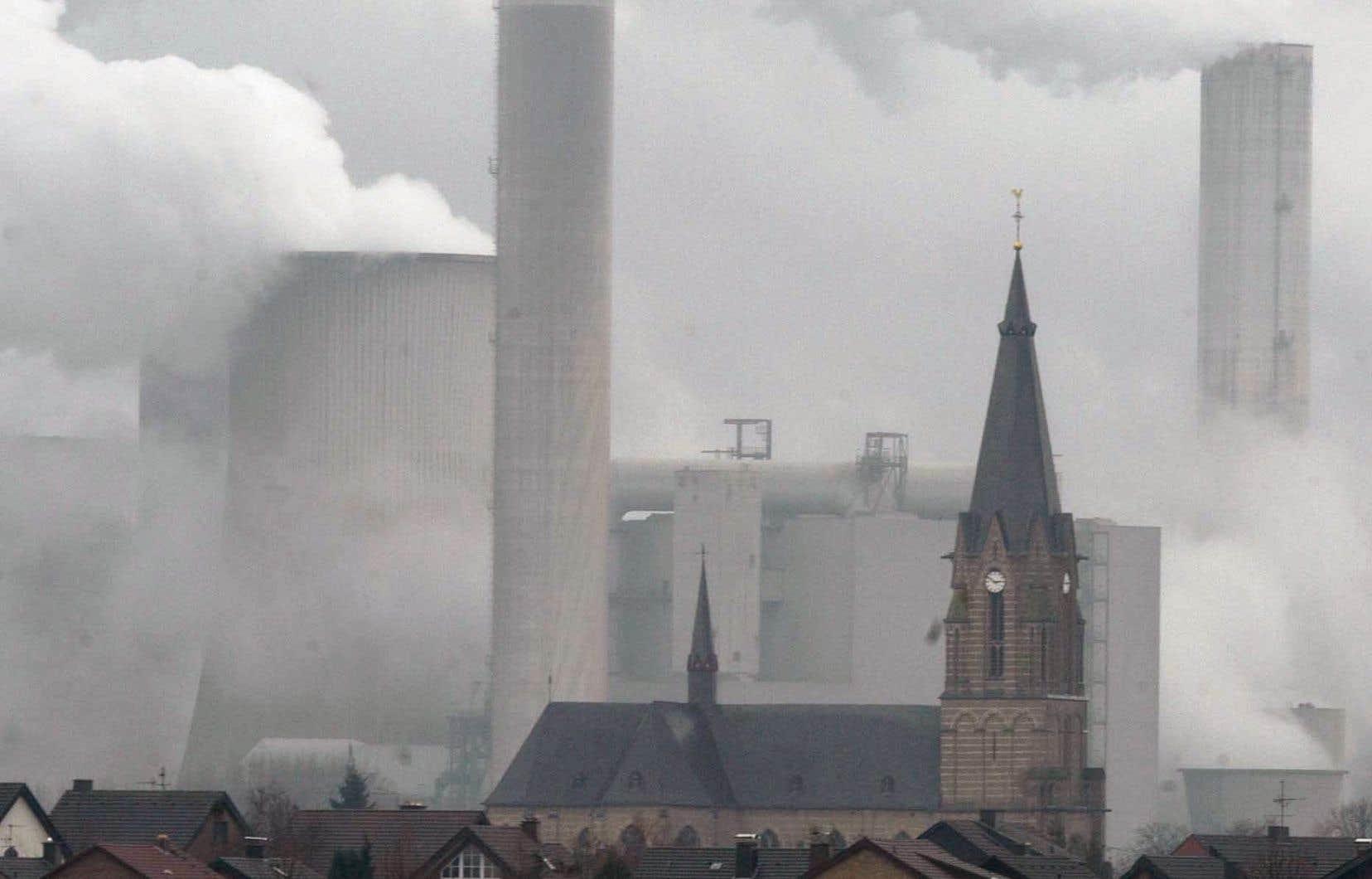 Une centrale au charbon à Bergheim, en Allemagne.