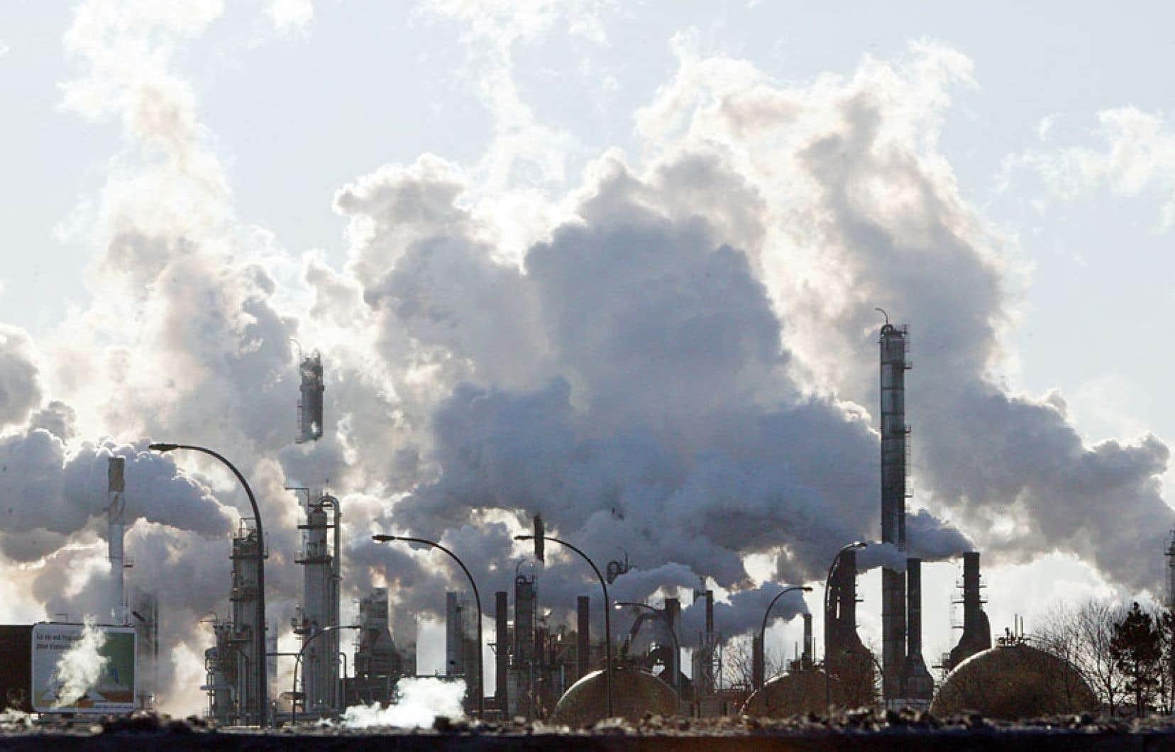 Raffinerie de pétrole montréalaise
