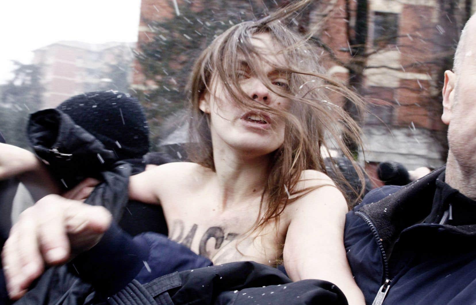 Le film d'Alain Margot met en lumière le rôle d'Oxana Shachko au sein des Femen.
