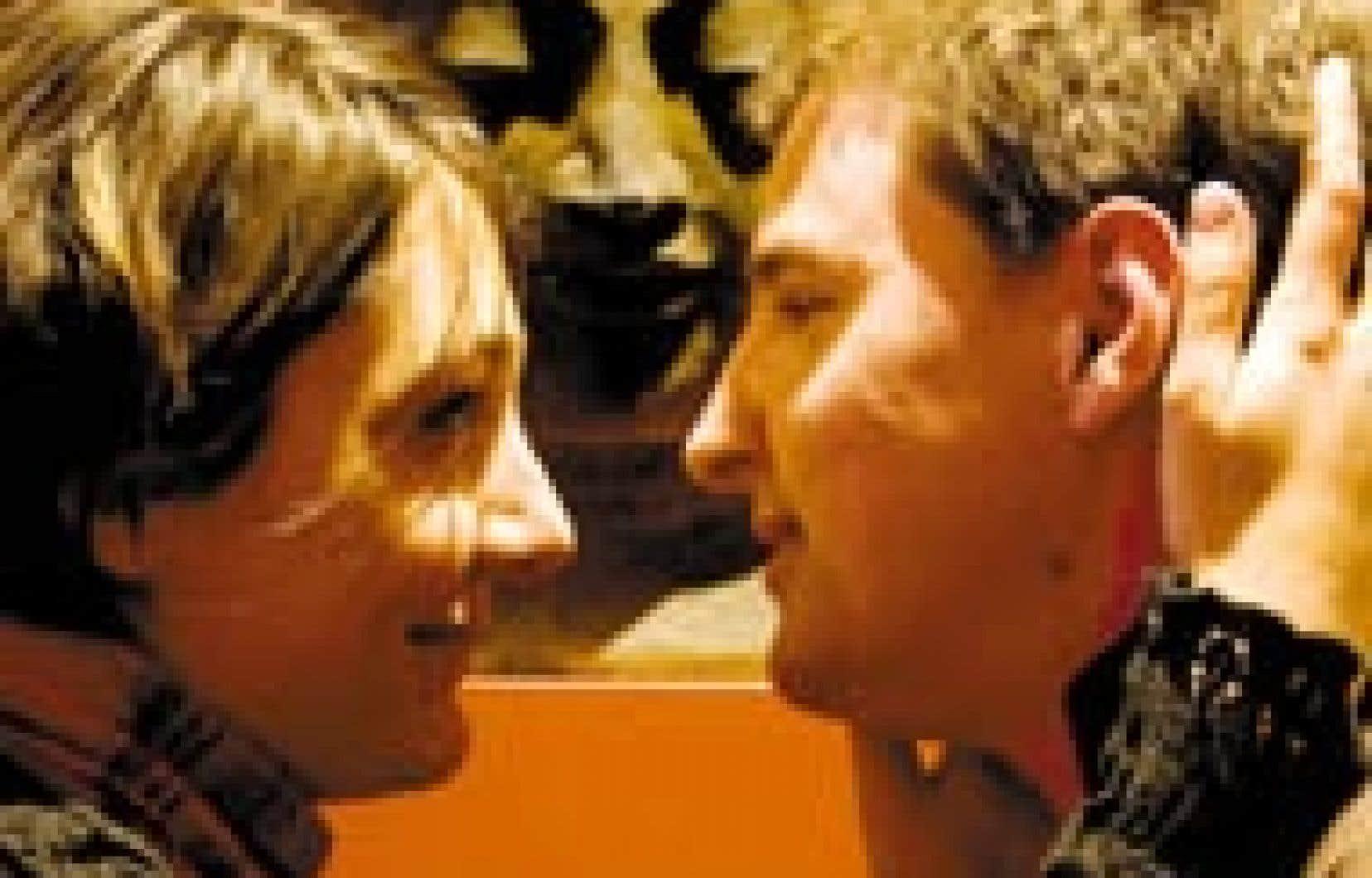 Johanna et Olivier, un couple qui s'est formé il y a sept ans. Le coup de foudre peut mener à un amour durable, à condition....