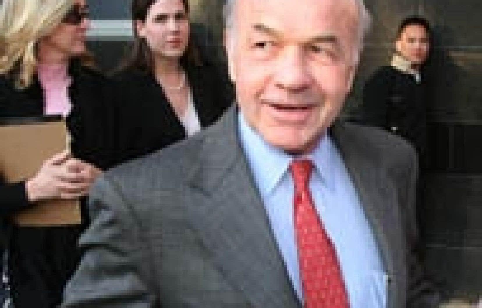Kenneth Lay, le président et fondateur d'Enron