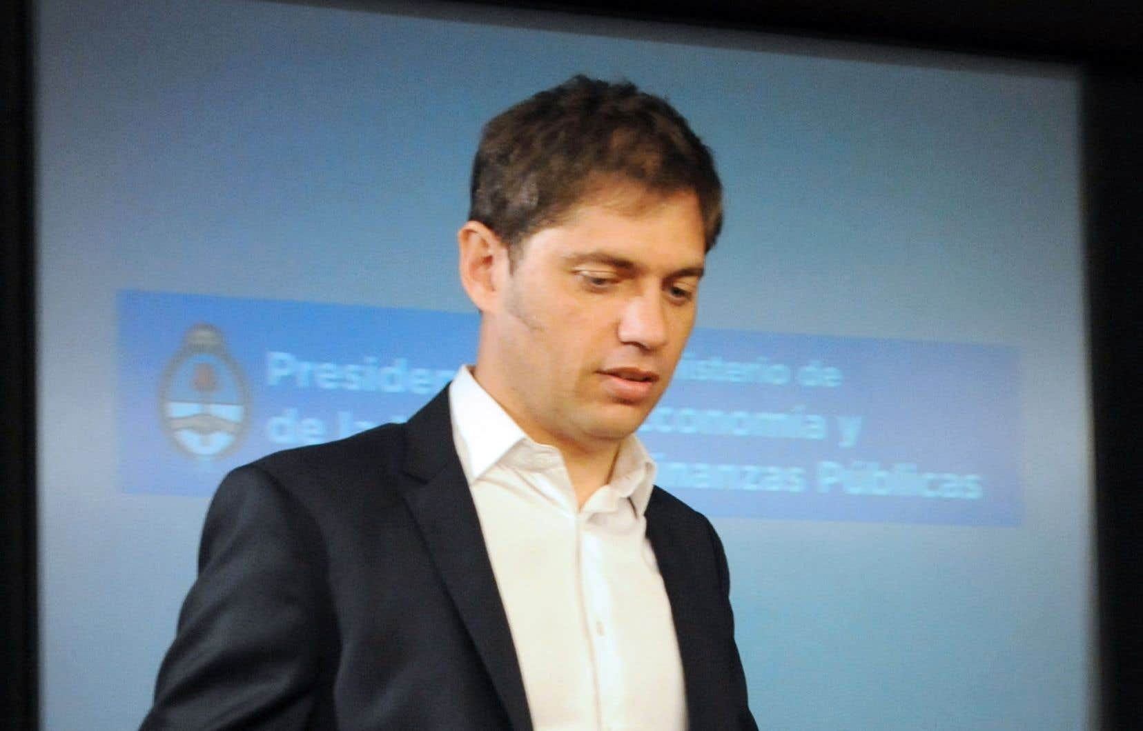 Axel Kicillof, ministre argentin de l'Économie