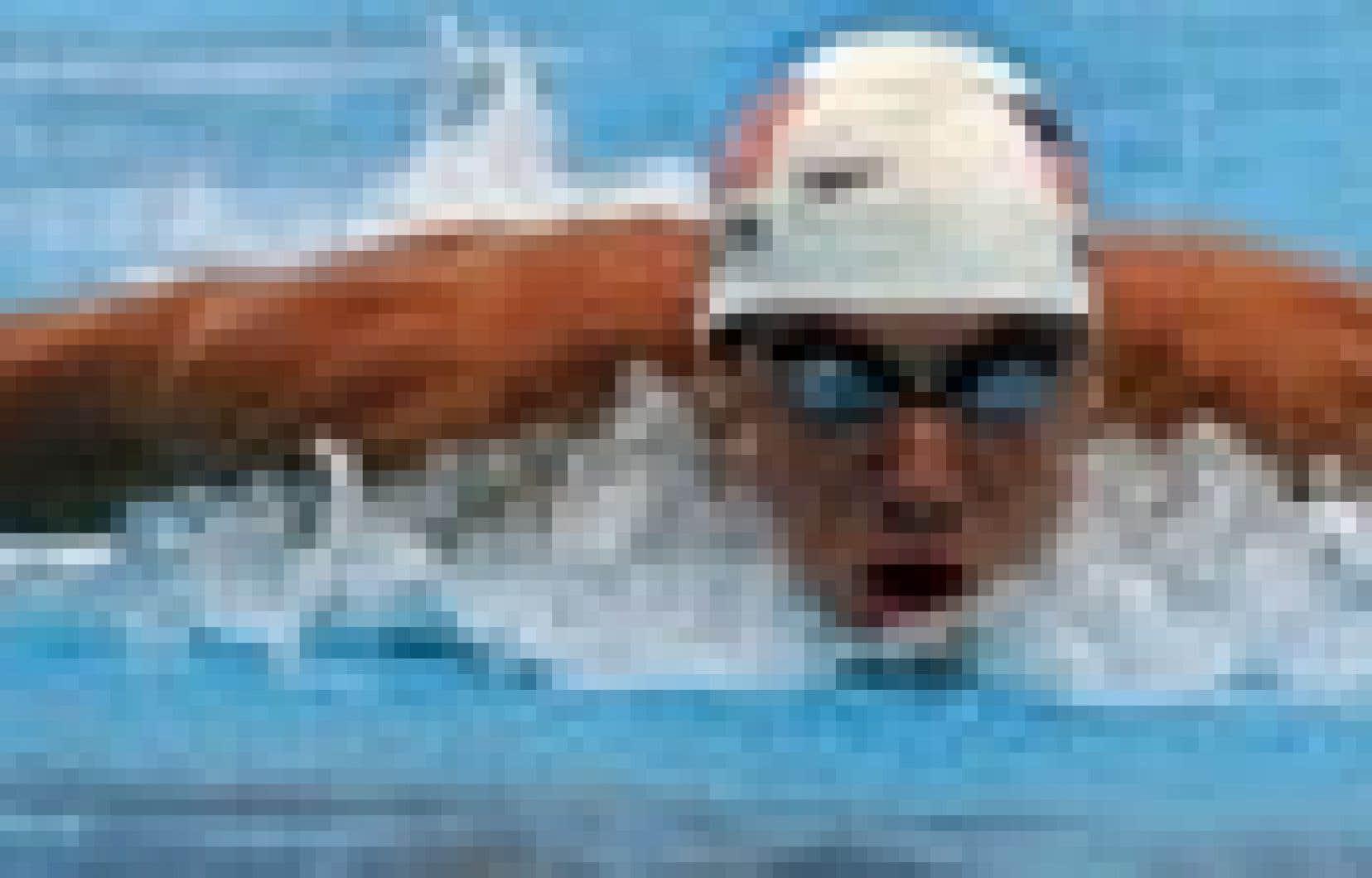 Michael Phelps à l'oeuvre lors des Championnats mondiaux de sports aquatiques qui se sont déroulés à Montréal l'été dernier.