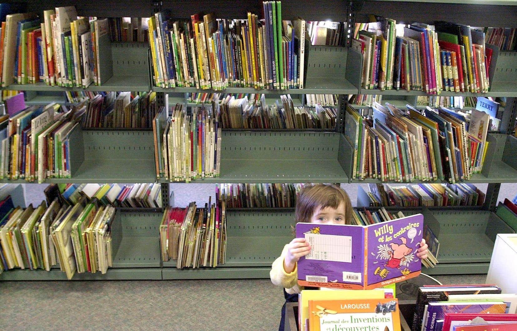 «Certaines bibliothèques sont correctement garnies, mais plusieurs sont tellement pauvres que c'en est gênant.»