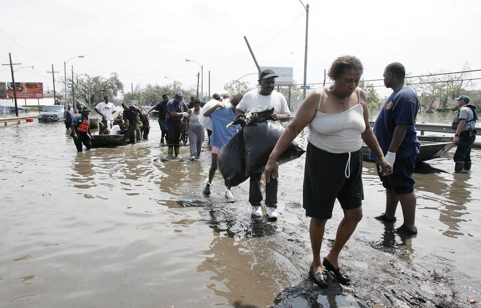 L'ouragan Katrina a dévasté La Nouvelle-Orléans en août 2005. Les phénomènes météorologiques extrêmes se multiplieront dans les prochaines années, préviennent des experts.