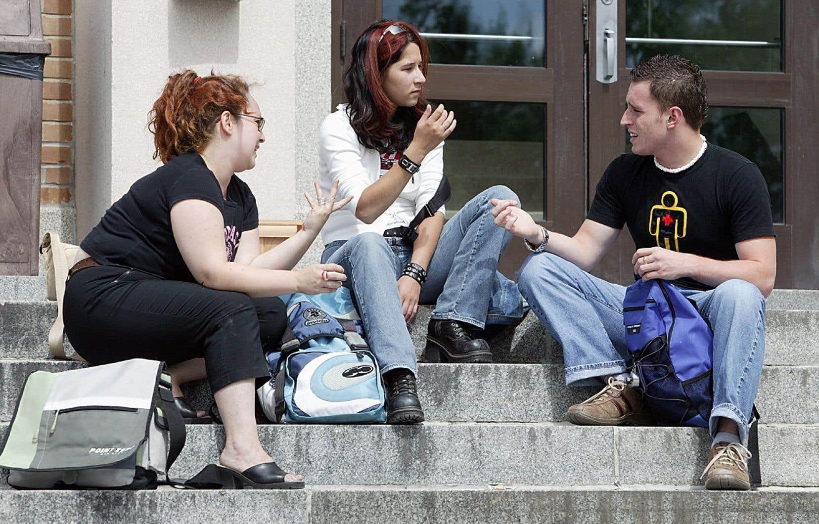 Sans surprise, les collèges de la région montréalaise et ses couronnes connaissent généralement des hausses de fréquentation.