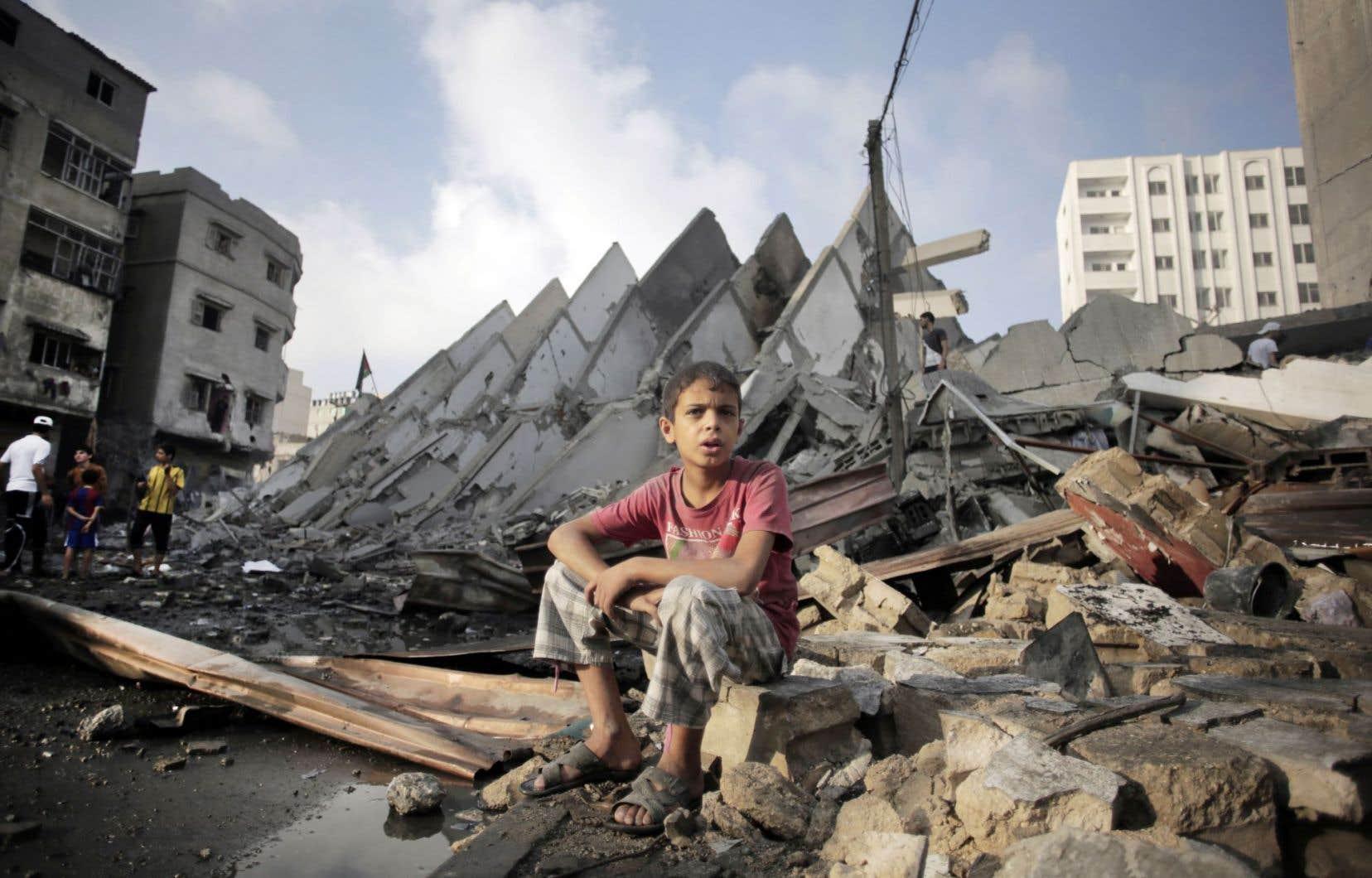 La guerre s'arrête à Gaza | Le Devoir
