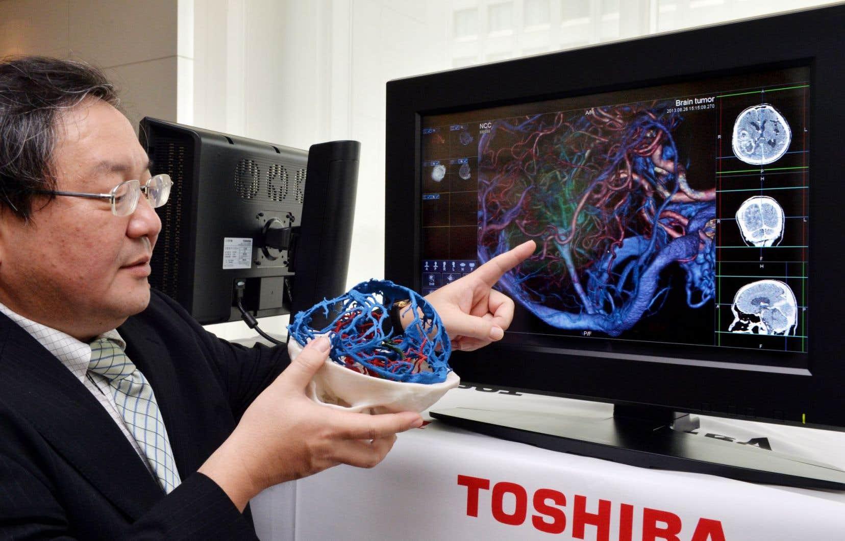 Toshiba a son propre hôpital à Tokyo et presque tout le matériel est de conception maison.