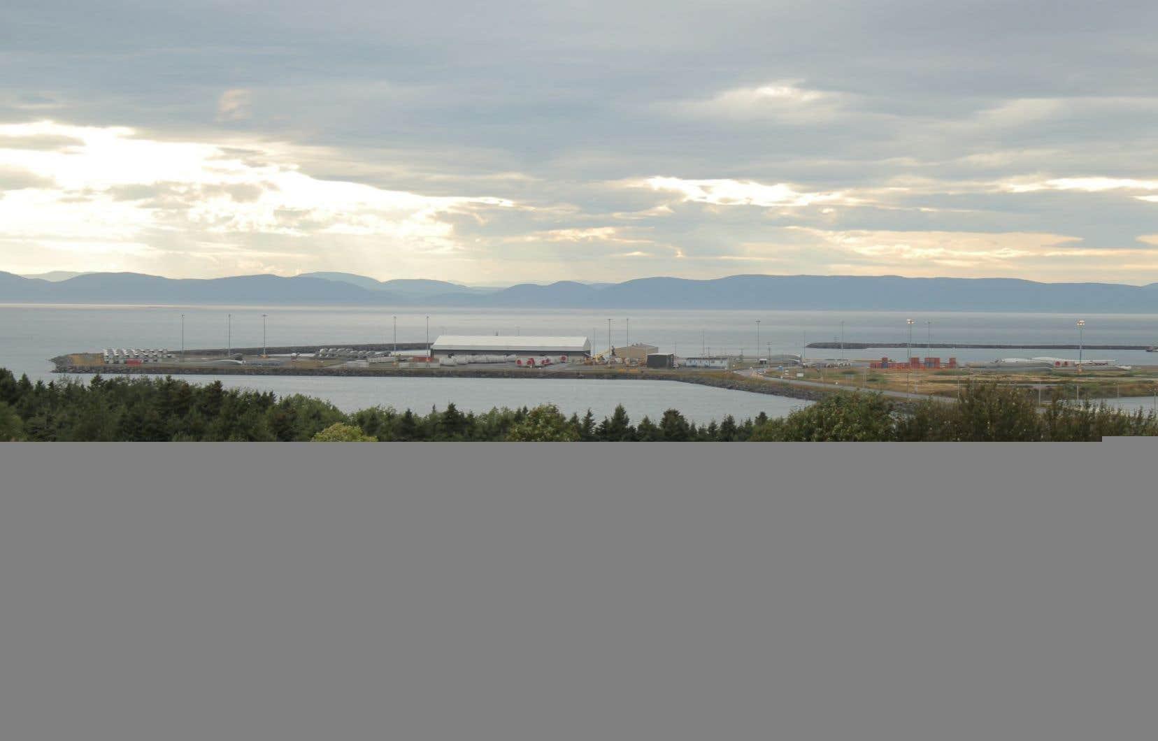 C'est dans le secteur de Cacouna que TransCanada entend mener des forages en prévision de la construction de son port pétrolier d'exportation.