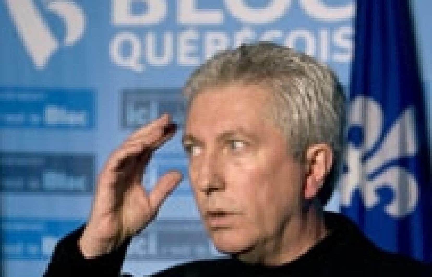 Gilles Duceppe ne cesse de faire campagne dans des comtés qu'on aurait qualifiés, auparavant, d'imprenables.