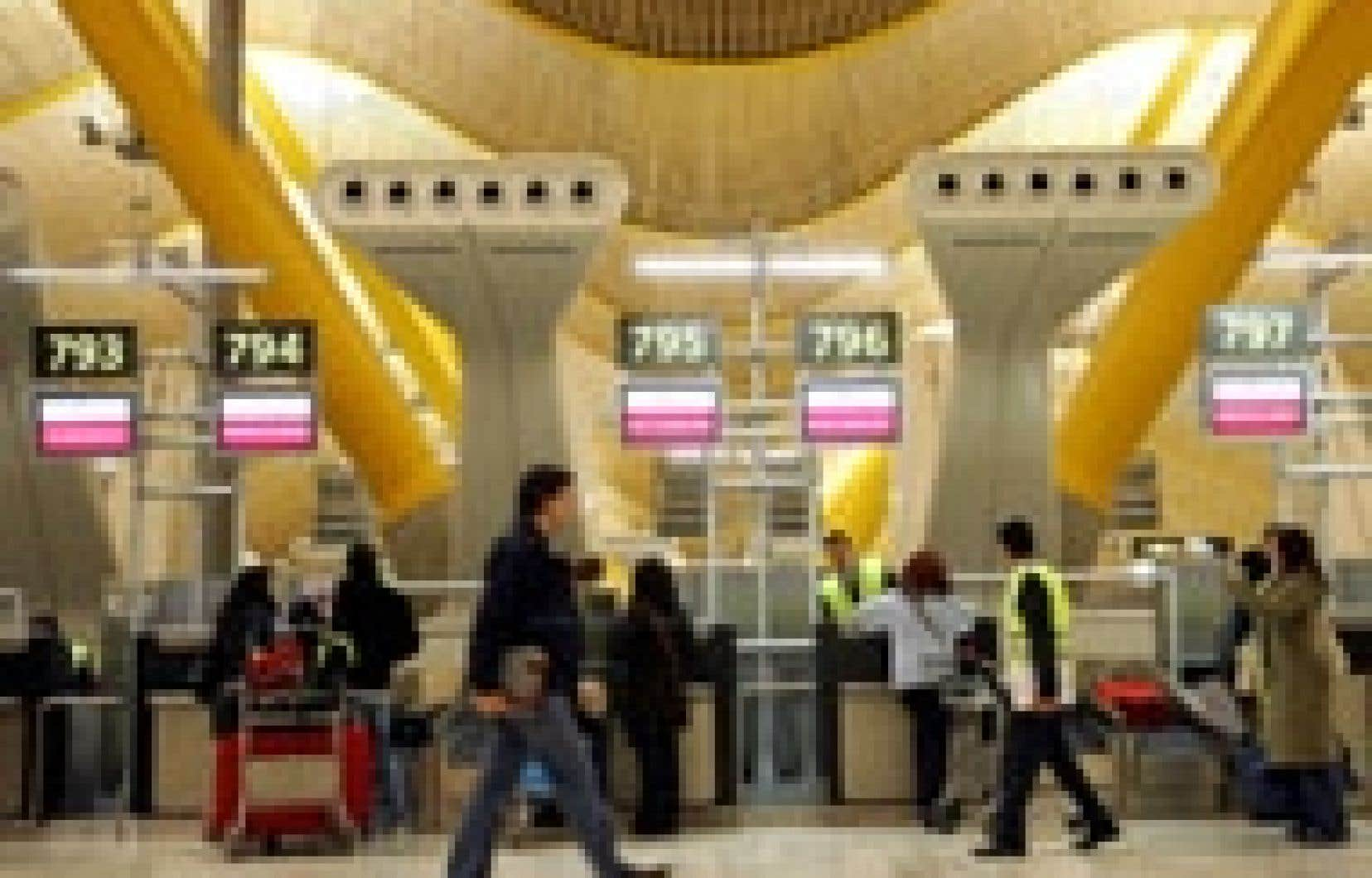 Le nouvel aéroport de Madrid, qui sera officiellement inauguré ce mois-ci, recevra 70 millions de passagers cette année.