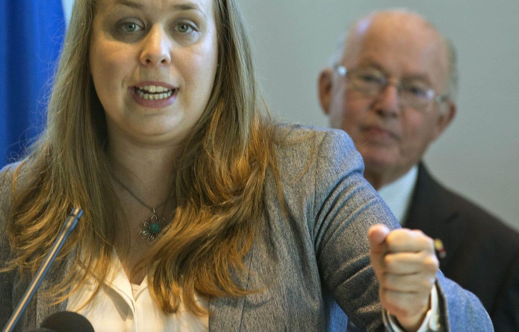 Martine Desjardins animera l'événement des 20 et 21 septembre prochains, qui reçoit la caution d'éminents souverainistes, dont Bernard Landry.