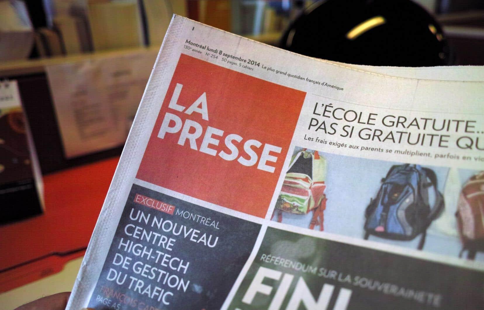 La Presse+ compte maintenant plus de lecteurs que La Presse.