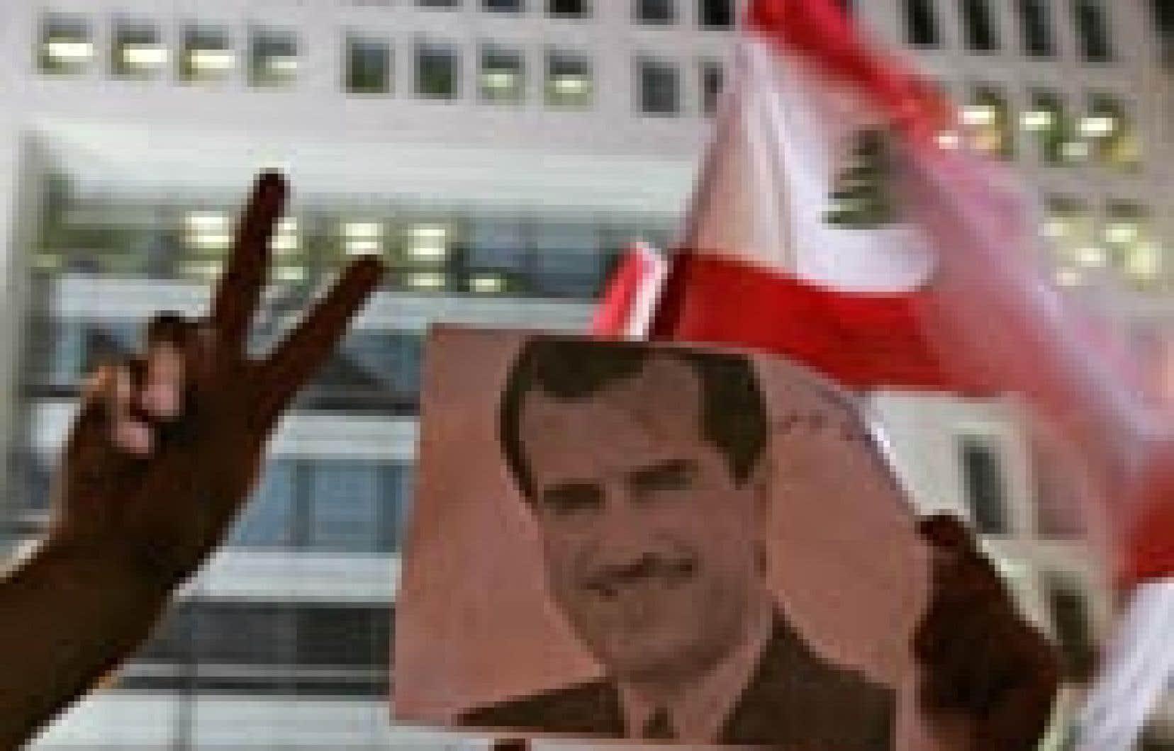 Des manifestants se sont rendus hier devant les locaux d'An Nahar.