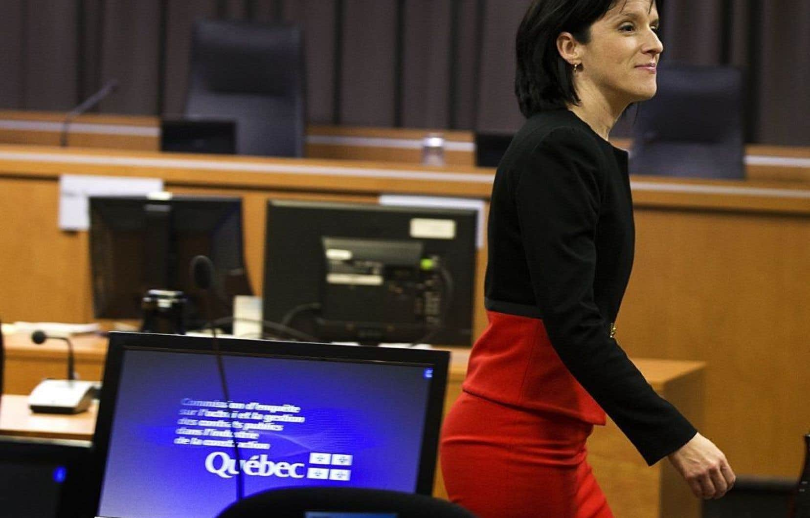 La procureure en chef Sonia LeBel