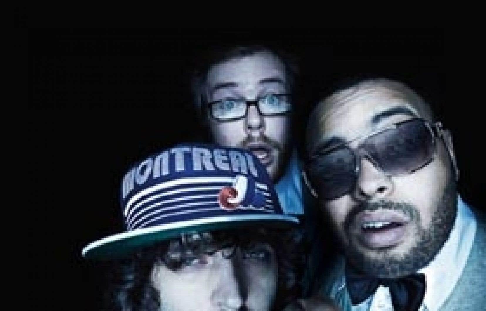 Le trio Omnikrom, qui comprend également le DJ Figure 8, lance son nouvel album Comme à la télévision.
