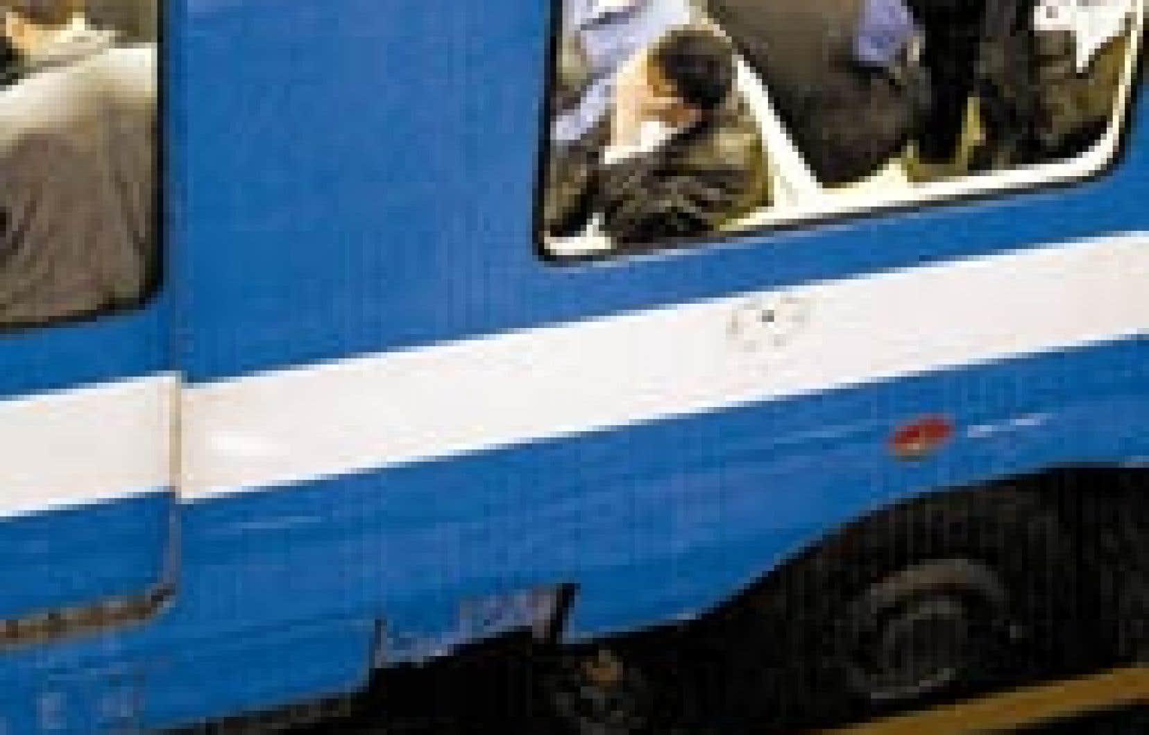 Depuis le début de l'année, 22 personnes ont essayé de se suicider dans le métro, contre 23 l'année précédente.