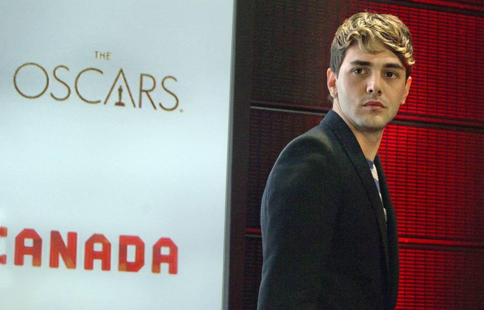 «Les Oscar participent à mon éducation et font partie de mon background au cinéma», a affirmé en entrevue vendredi Xavier Dolan.